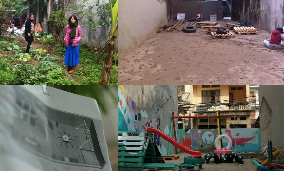 Espacios De Juego Con Material Reciclado Alaya Difundiendo Infancia