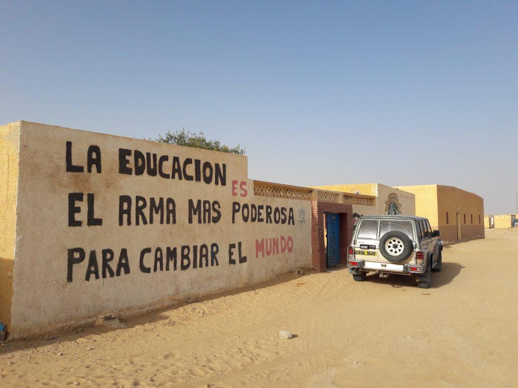 La educación como arma para cambiar el mundo