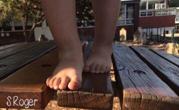 educando con los pies descalzos